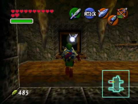 Let's Play Legend of Zelda Ocarina of Time Part 45 Scarecrow's Song