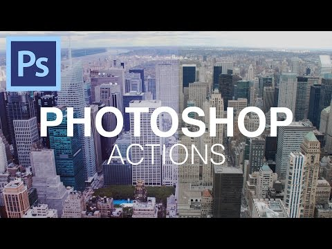 How To Use Photoshop Actions