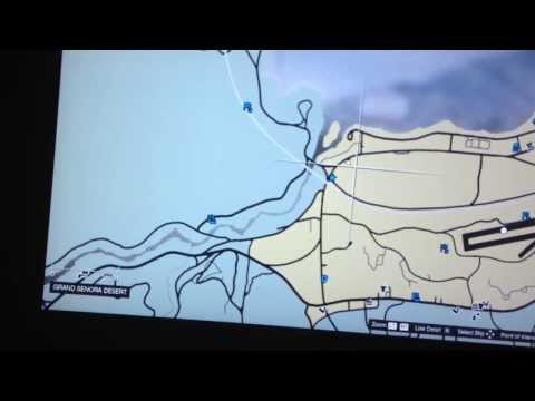 A military truck location in gta v ! Online epsoide 1