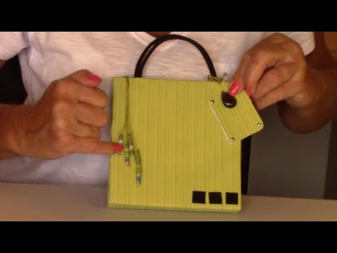 Gift Wrapping By Elaine Handbags Made From Recycled Materials