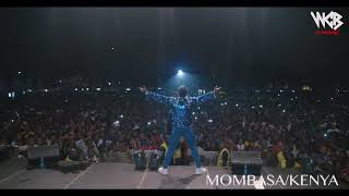 Diamond Platnumz -  Performing live at Mombasa  Part 3 (wasafi festival 2018)