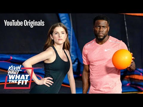 Xxx Mp4 Trampoline Dodgeball With Anna Kendrick And Kevin Hart 3gp Sex