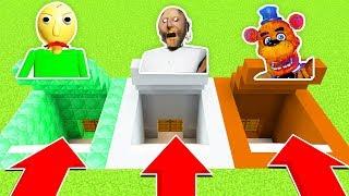 Do Not Choose The Wrong Secret Base! (baldi