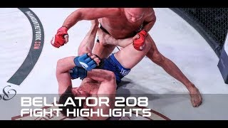 Bellator 208 Fight Highlights: Fedor Returns to Form, TKOs Chael Sonnen