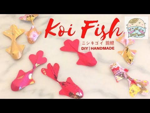 DIY Koi Fish with Red pockets 利是封錦鯉  ニシキゴイCNY Deco Crafts