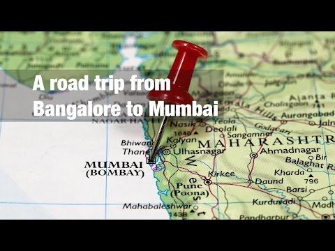 A road trip from Bangalore to Mumbai | Distance - 1030 km | Tata Nano