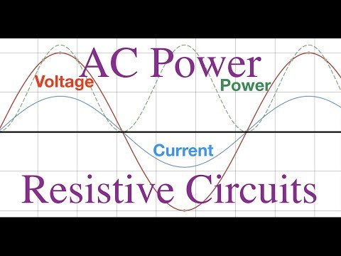 RLC Circuits (1 of 6)  Power in Resistive Circuits