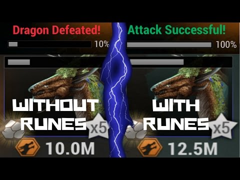 War Dragons: High Level Sage Gameplay!!! And What Difference Do Runes Really Make???