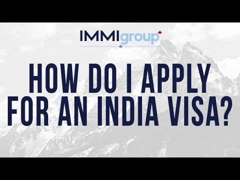 How do I apply for an India visa?