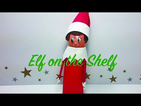 How to Make an Elf on the Shelf Handmade Craft! Perfect Christmas Fun!