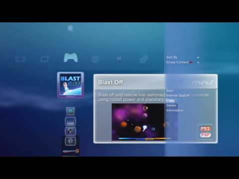 Sony PS3 and PSP minis download tutorial