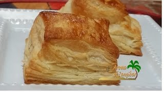 PUFF PASTRY DOUGH - IN ENGLISH