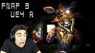 PHANTOM FOXY IS SO BROKEN! - FNaF 3 Unreal Engine 4 & Five Nights at Sheepy