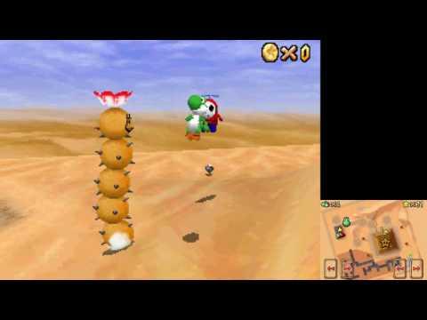 Super Mario 64 DS - Pokey Coin Duplication