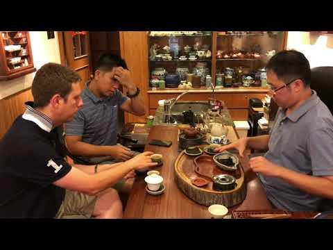 Tea Guru & Philip Lee visit 'Leo Tea' in Hong Kong