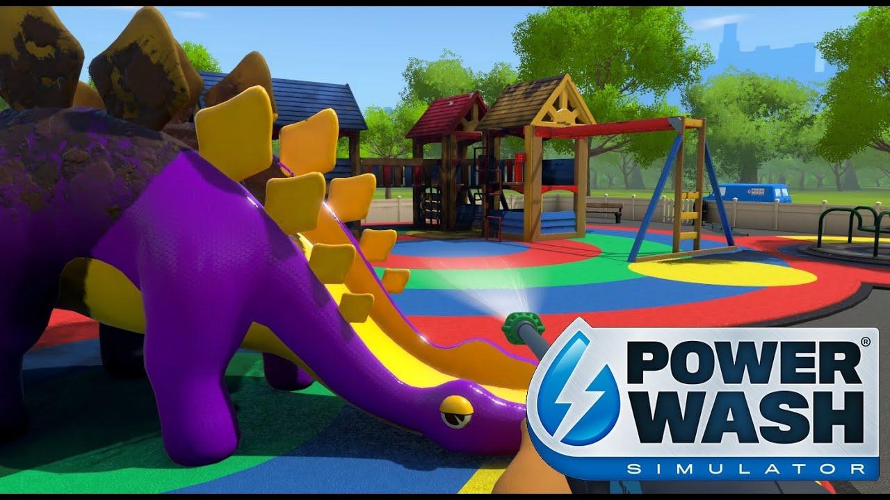 Turning A Desolate Playground Around ~ PowerWash Simulator #2