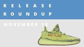 Frozen Yellow adidas Yeezy, How Jason Mayden Went From Intern to Jordan Designer | Release Roundup