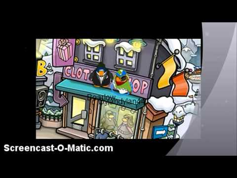 How To Walk On Walls On Club Penguin (Read Description)