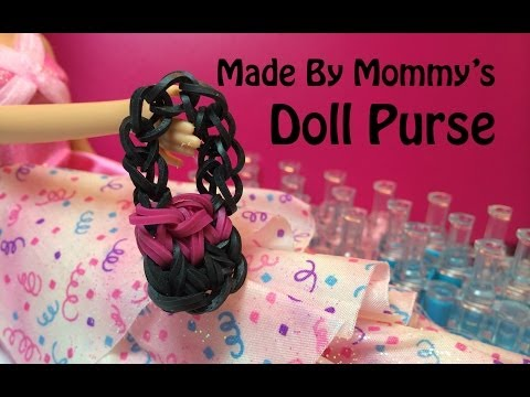 Doll Purse or Handbag Charm on the Rainbow Loom