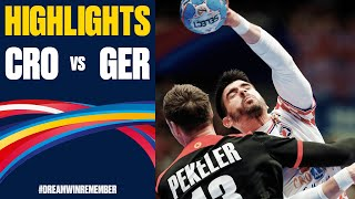 Croatia vs. Germany Highlights | Day 10 | Men's EHF EURO 2020