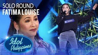 Fatima Louise - Feeling Good   Solo Round   Idol Philippines 2019