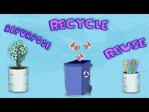 Environment: Reuse, Repurpose, Recycle