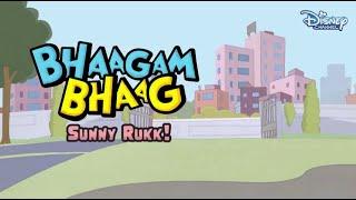 Bhaagam Bhaag Episode 6- Funny Hindi Cartoon For Kids - Disney India