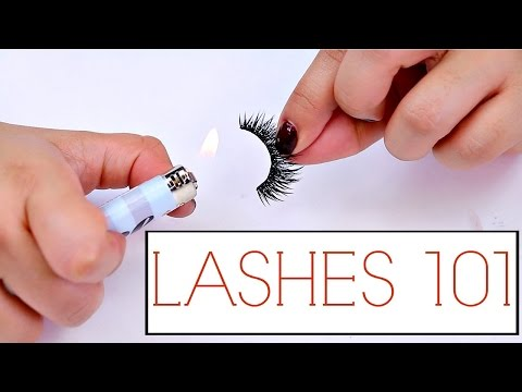 False Lashes Tips And Tricks For Beginners!