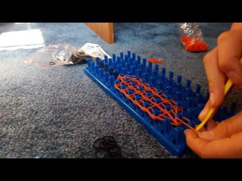 How to make a rainbow loom nail polish jar.