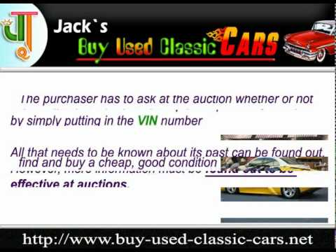 How to Find a Cheap and Reliable Car in a Car Impound Auction.mpg