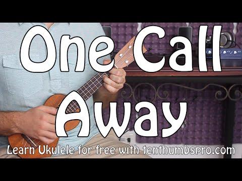 One Call Away - Charlie Puth - Ukulele Tutorial - Beginner Ukulele