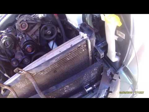 How to replace radiator in 2006 Jeep commander 3.7l