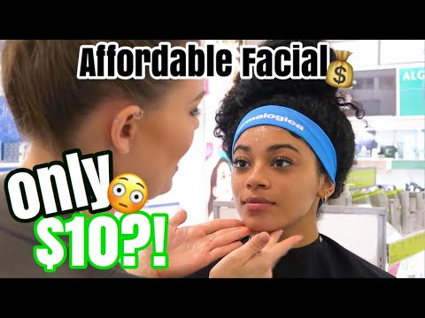 I GOT A FACIAL FOR $10?! | jasmeannnn
