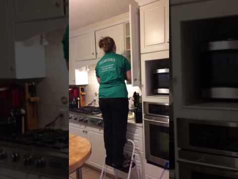 TipTop Cleaning Charlotte Disinfecting a Home in a Deep Clean - Part 2