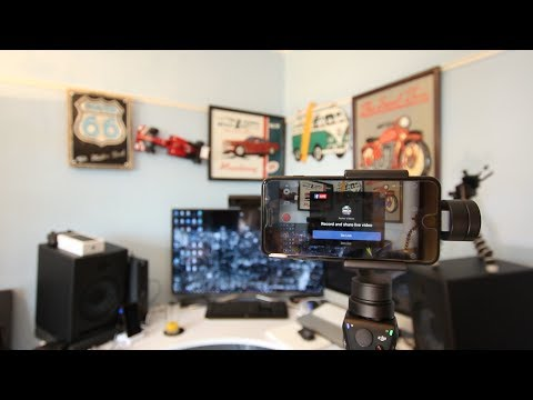 DJI Osmo Mobile Live Stream to Facebook and Youtube