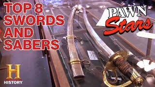 Pawn Stars: TOP 8 SWORDS OF ALL TIME (Rare Blades and Expensive Sabers) | History