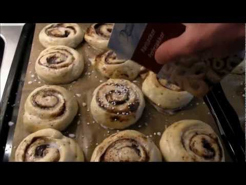 Traditional Swedish Cinnamon Buns.