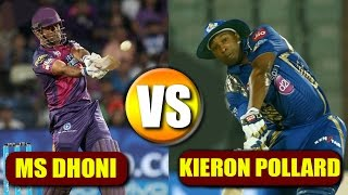 IPL 2017 Final: MS Dhoni vs Kieron Pollard in Mumbai Vs Pune Supergiant   वनइंडिया हिंदी