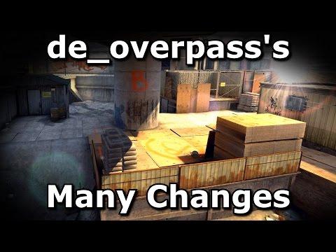 de_overpass's Many Changes