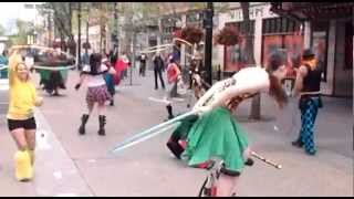The Calgary Prop and Circus Flash Mob