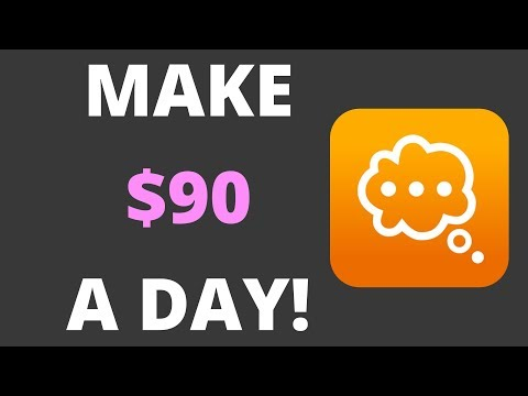 HOW TO MAKE $90 A DAY BY ANSWERING QUESTIONS!