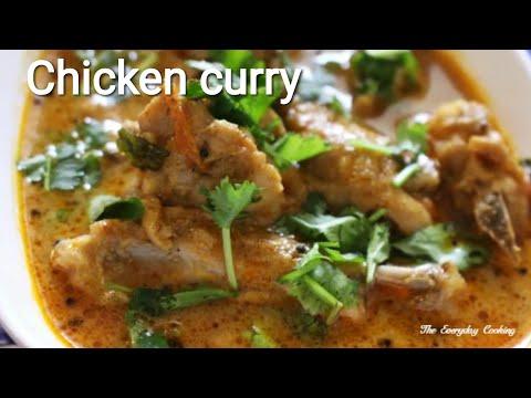 Chicken curry - South Indian naatu kozhi kulambu - Chicken recipe - Spicy chicken curry