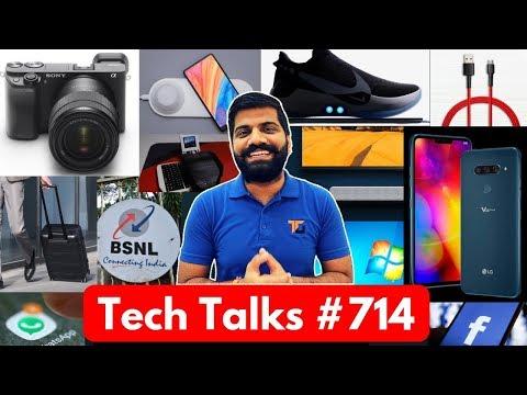 Tech Talks #714 - LG V40 ThinQ, Whatsapp Update, Sony A6400, Facebook Rules, Windows 7 Support