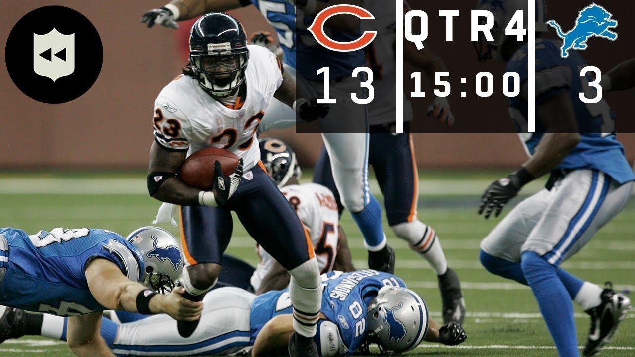 The Highest Scoring 4th Quarter in NFL History! (Bears vs. Lions Week 4, 2007)