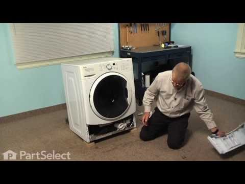 Washing Machine Repair - Replacing the Drain Pump (Whirlpool Part # W10130913)