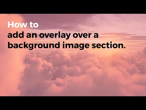 V2 - Add Background Image with Overlay in Cornerstone