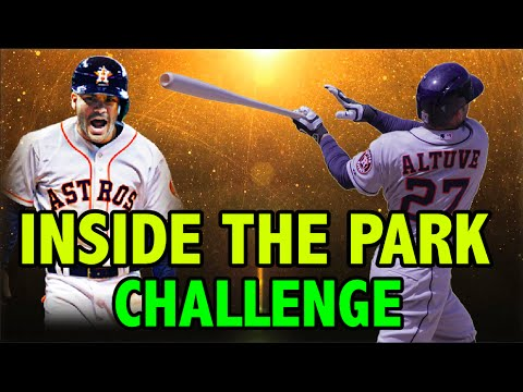 JOSE ALTUVE INSIDE THE PARK HOME RUN   MLB THE SHOW 16 POLO GROUNDS CHALLENGE