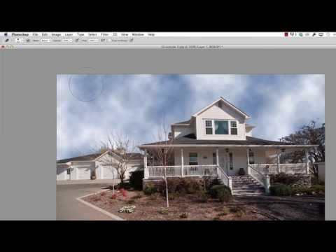 Photoshop Tutorial - How to Create Clouds
