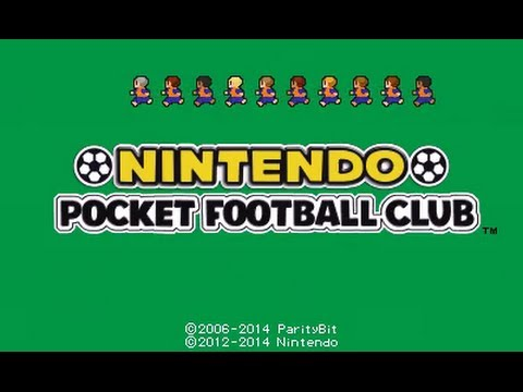 [Nintendo Pocket Football Club] A Look at a Match Gameplay