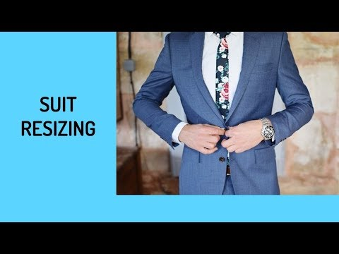 How To Slim Fit Or Let Out Suit Coats - Part 2